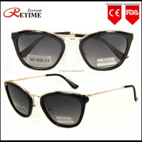 2015 Latest Popular Italian Brand Fashion Promotion Polarized Sunglasses For Lady (SP-500)