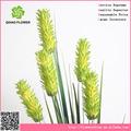 Precio competitivo ficus carica ramo con 5 cabeza de, de hierba artificial& de flores para la decoración