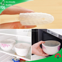 Translucent food-grade silicone Fresh keeping food wrap