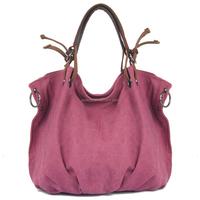 2015 new ladies casual chic Canvas Hobo bag handbags