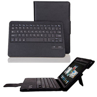 Bluetooth keyboard leather case for amazon kindle fire HDX 8.9