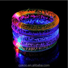 2016 Event & Party decoration flashing led bracelet light for party, shows,events,festivals,party,exhibitions with waterproof
