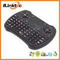 Últimas 2.4 G inalámbrico Mini teclado estilo con Touchpad teclas Multimedia Mouse micrófono y micrófono del auricular