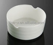 Double drum line ashtray hotel with porcelain
