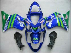 for honda cbr600f4i parts cbr 600 f4i 2001 2002 2003 fairing kit cbr600f4i 01 02 03 cbr f4i bodykit f4i movistar blue green body