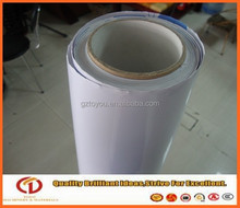 Black glue vinyl sticker roll/vinyl sticker paper rolls