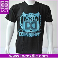 Recommend 100% low cadmium ink dyed cotton school tshirt with custom imprint(LCTT0053)