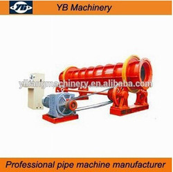 lowest price centrifugal reinforced concrete pipe machine with mold