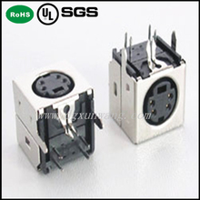 pcb jack Male connector 4 pin mini din 90 degree manufacturer/supplier/exporter