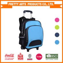 New design detachable kids trolley school bags