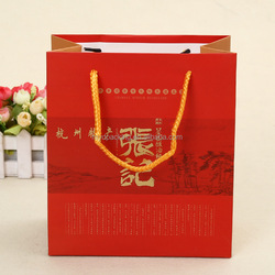 2016 New spring paper shopping bag with fast delivery