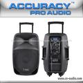 """100W RMS recarregável sistema de amplificador com 15"""" alto-falante ativo PMK15AUQ-V2BP"""