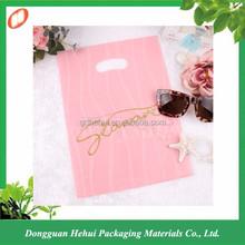Wholesale die cut plastic shopping bag supplier