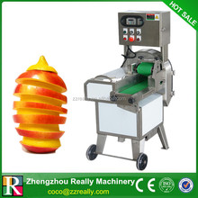 Automatic root vegetable chopping machine fruit cutting machine with video