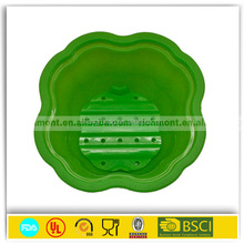2015 Target audited supplier Collapsible Compact Pet Bowl Dog Cat Travel Dish Silicone Lightweight