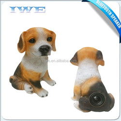 New design hot sale super bass mobile portable blue tooth speaker dog shape wireless speaker music box best Christmas products