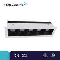 fixed square led under cabinet light with brand chip and driver, high CRI and power factor