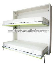 modern design space saving bunk wall bed student dormitory bunk bed