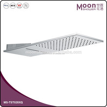 ceiling mounted bathroom shower stainless steel rain shower with waterfall