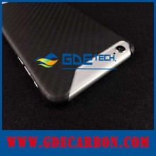 100% Real Carbon Fiber Phone Cover for iPhone 6 Plus