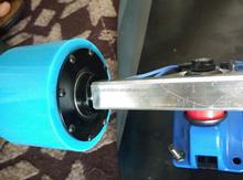 New in-wheel motor for electric skateboard parts hub motor wheels brushless no sense motor in china