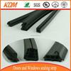 Floor extruded rubber trim strip for sealing/rubber flooring trim