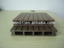 high quality European standard water and slip resistance balcony flooring wood plastic decking wpc plastic flooring for outdoor