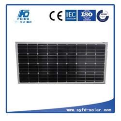 Monocrystalline solar panel 150w 18v for Travel Tourism Cars or Golf Cars