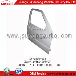 Front door panel of CHERY A11 popular car body parts name
