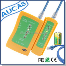 AUCAS brand RJ45+RJ11 pass fluke network lan cable tester prices for networking