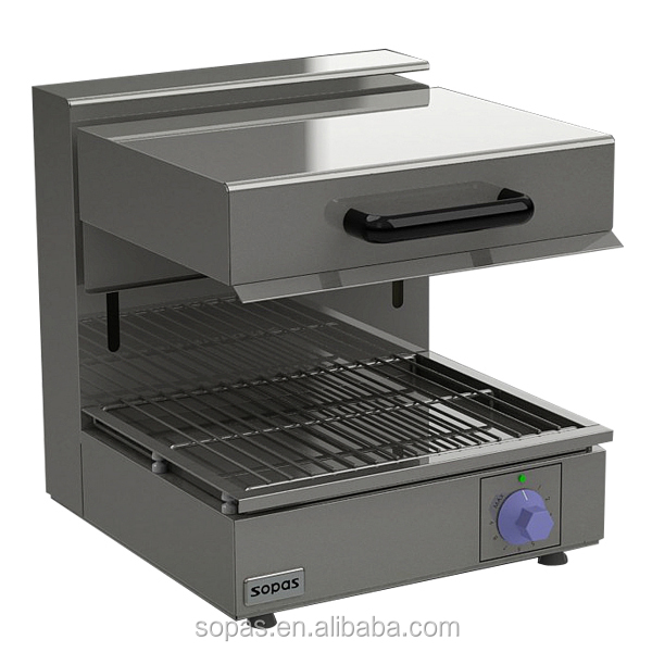 Industrial Electric Grill ~ Sopas stainless steel commercial electric salamander grill