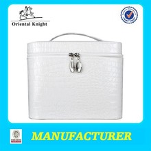 Women pu leather designer cosmetic bag lady bag