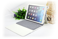 For iPad Air 2 Lichee Texture Leather Case +Bluetooth Keyboard, For iPad Keyboard Case