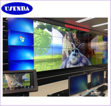 Oem factory price Wall mounted 55 inch 5.3mm Ultra narrow bezel 4K video display led video wall monitor