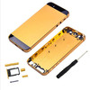 New Color for iphone 5/5S chassis Housing Metal Battery Frame Replacement Back Cover