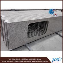 one piece bathroom sink countertop and prefab granite countertop g682