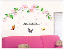 ALFOREVER One sweet room wedding house living room decoration,home wall decals