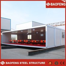 Prefab Flat-pack Office assemble container house accommodation