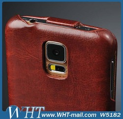 Genuine Leather Case for Samsung Galaxy S5 i9600