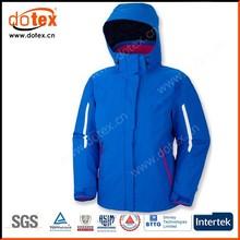 2015 waterproof windproof custom nylon Rip-Stop men fleece hooded jacket