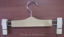 laminated bottom wooden hangers , wooden hangers with clips best seller