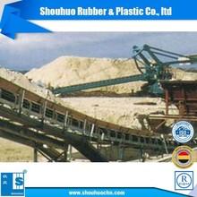 rubber conveyor belts for cement plant