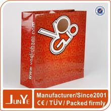 OEM top quality hot sale die cut paper shopping bag