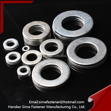 Flat washer / zinc plated DIN 9012 flat washer/forged steel washers