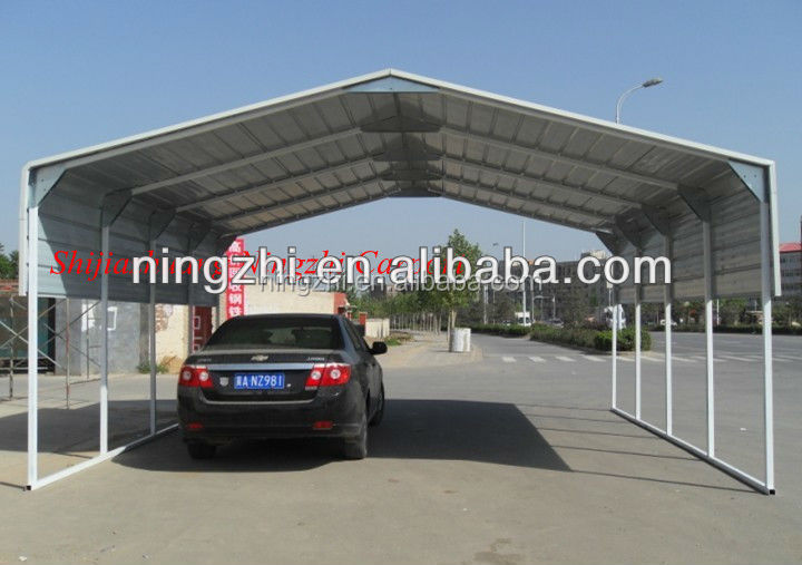metall garage mit abstellraum zimmer stahl carport zum. Black Bedroom Furniture Sets. Home Design Ideas