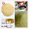 Hydrolysed gelatin pharmaceutical grade gelatin in tablets