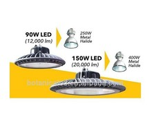Led alibaba express MeanWell HBG Driver 120lm/w 150w led high bay light lampada e40 led lamp