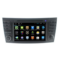 Quad Core 1024X600 Android 4.4.4 Car DVD GPS For Mercedes E G Class W209 W211 W219 W463 With 3G WIFI DVR Radio Head Unit