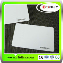Bulk blank magnetic dual frequency contactless rfid card