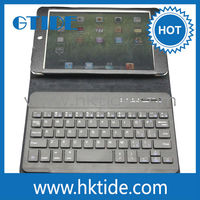 Bluetooth leather keyboard case for ipad mini with low price